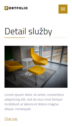 Luxurious portfolio